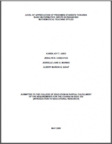 Thesis abstract about business in the philippines